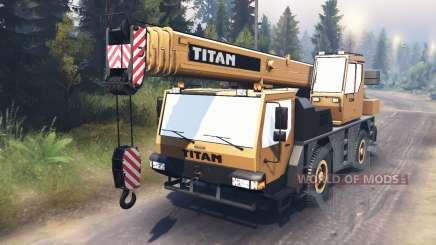 Liebherr LTM 1030 [03.03.16] für Spin Tires