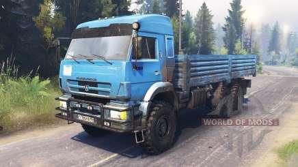 KamAZ-43118 pour Spin Tires