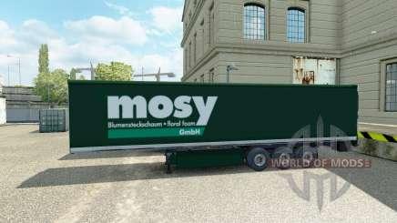 La peau Mosy sur semi-remorque pour Euro Truck Simulator 2
