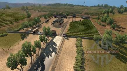 Neue Städte in Kalifornien und Nevada für American Truck Simulator