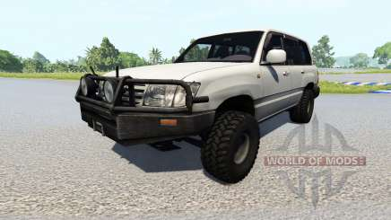 Toyota Land Cruiser 100 [renewed] pour BeamNG Drive