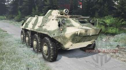 Le BTR-70 [03.03.16] pour Spin Tires