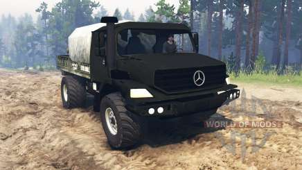 Mercedes-Benz Zetros 2733 [update] pour Spin Tires