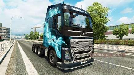 Volvo FH16 8x4 für Euro Truck Simulator 2