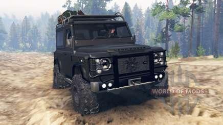 Land Rover Defender 90 Kahn 2013 pour Spin Tires