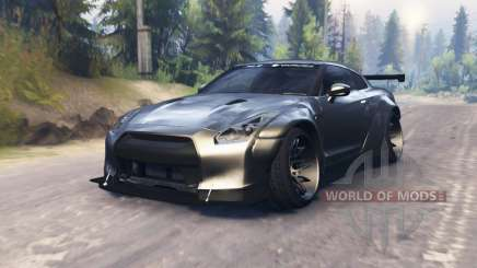 Nissan GT-R (R35) and Toyota GT-86 [03.03.16] pour Spin Tires