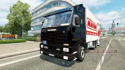 Scania 143M BDF pour Euro Truck Simulator 2