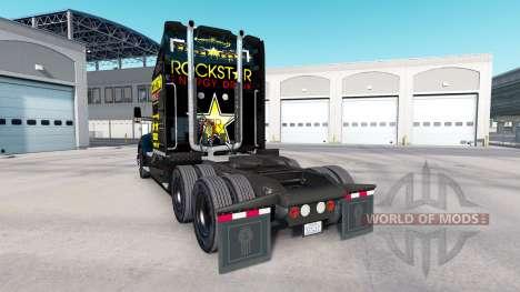 Rockstar peau pour le tracteur Kenworth pour American Truck Simulator