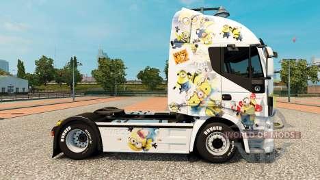 Die Schergen-skin für Iveco-Zugmaschine für Euro Truck Simulator 2