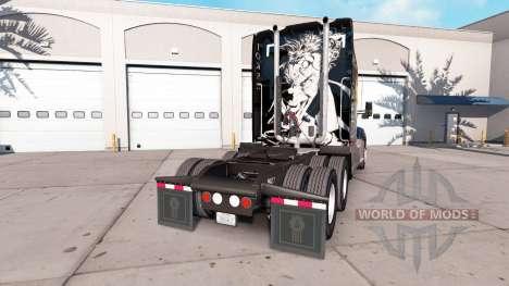 Joker de la peau pour le tracteur Kenworth pour American Truck Simulator
