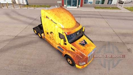 Western-skin für den truck Peterbilt für American Truck Simulator