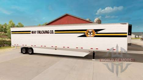 Frigorifique semi-remorque pour American Truck Simulator