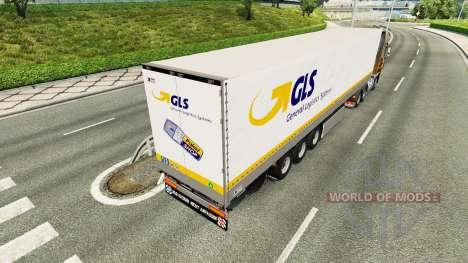 Autonome GLS remorque pour Euro Truck Simulator 2