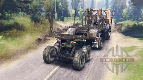 MAZ-5434 für Spin Tires