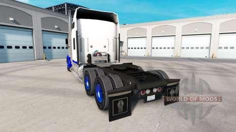 Haut Blue Spike auf den truck Kenworth W900 für American Truck Simulator
