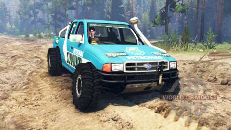 Ford 4x4 pour Spin Tires