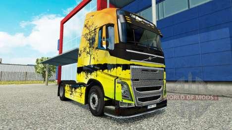 Tree skin für Volvo-LKW für Euro Truck Simulator 2