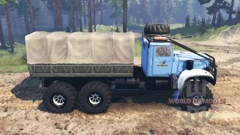 KrAZ-214 v3.0 für Spin Tires