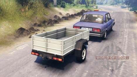 La VAZ-2105 pour Spin Tires