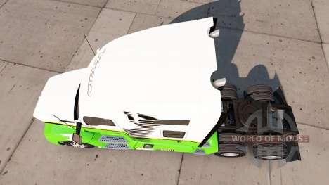 Skin Gold Edition-Traktor Kenworth für American Truck Simulator