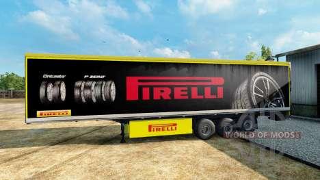 Pirelli Haut für den trailer für Euro Truck Simulator 2