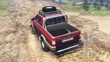 UAZ-2362 pour Spin Tires