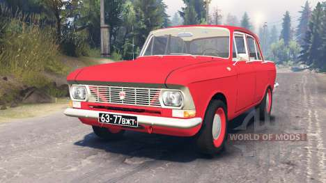 Moskwitsch-412 für Spin Tires