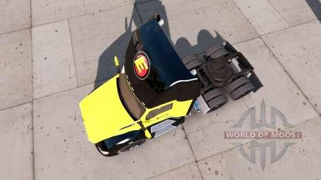 Estes de la peau pour tracteur Kenworth pour American Truck Simulator