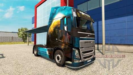 Planète de la peau pour Volvo camion pour Euro Truck Simulator 2