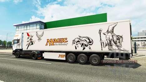 Magic skin für Scania-LKW für Euro Truck Simulator 2