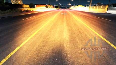Or la lumière rouge pour American Truck Simulator
