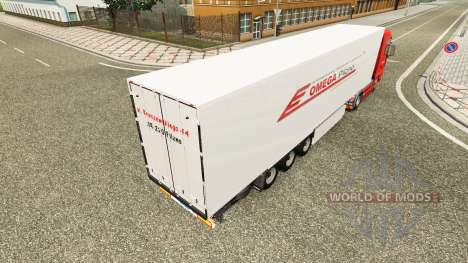 Omega Pilzno Haut für MAN-LKW für Euro Truck Simulator 2
