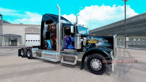 Haut World of Warcraft auf dem truck-Kenworth W9 für American Truck Simulator