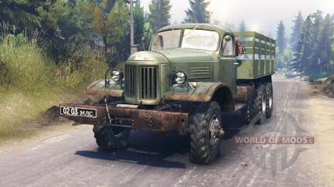 ZIL-157 pour Spin Tires
