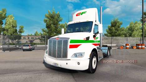 Consildated de la peau pour le camion Peterbilt  pour American Truck Simulator