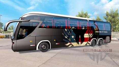 Haut-USA auf dem Traktor Mascarello Roma 370 für American Truck Simulator