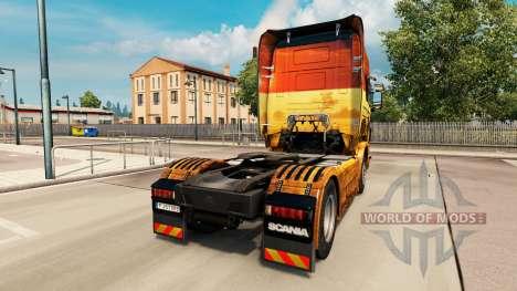 Haut Safari für Scania-LKW für Euro Truck Simulator 2