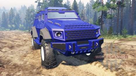 GTA V HVY Insurgent pour Spin Tires