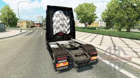 Save The Ring-skin für den Volvo truck für Euro Truck Simulator 2