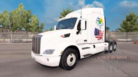 L'ecosse Américaine de la peau pour le camion Pe pour American Truck Simulator