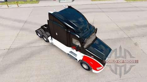 Netstoc Logistica de la peau pour le camion Pete pour American Truck Simulator