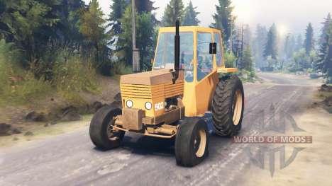 Valmet 502 für Spin Tires