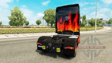 La peau Fraîche camion de pompier Scania R700 pour Euro Truck Simulator 2