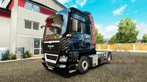 Haut Need For Speed Carbon für Traktor MAN für Euro Truck Simulator 2