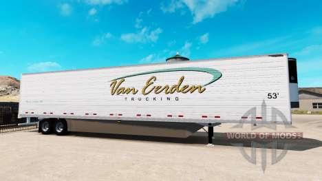 Kühl-Sattelauflieger für American Truck Simulator