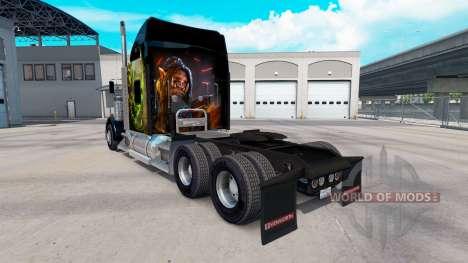 Haut World of Warcraft auf dem truck-Kenworth W9 für American Truck Simulator