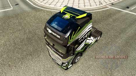 Haut Concept-Bild für Volvo-LKW für Euro Truck Simulator 2