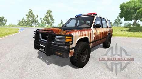 Gavril Roamer Rusted Sheriff für BeamNG Drive
