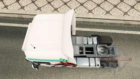 Collin IronMan de la peau pour DAF camion pour Euro Truck Simulator 2