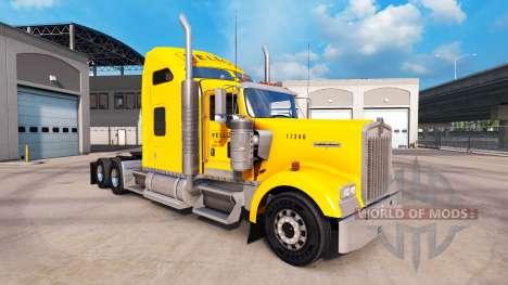 Peau Jaune Inc. pour Peterbilt et Kenworth camio pour American Truck Simulator